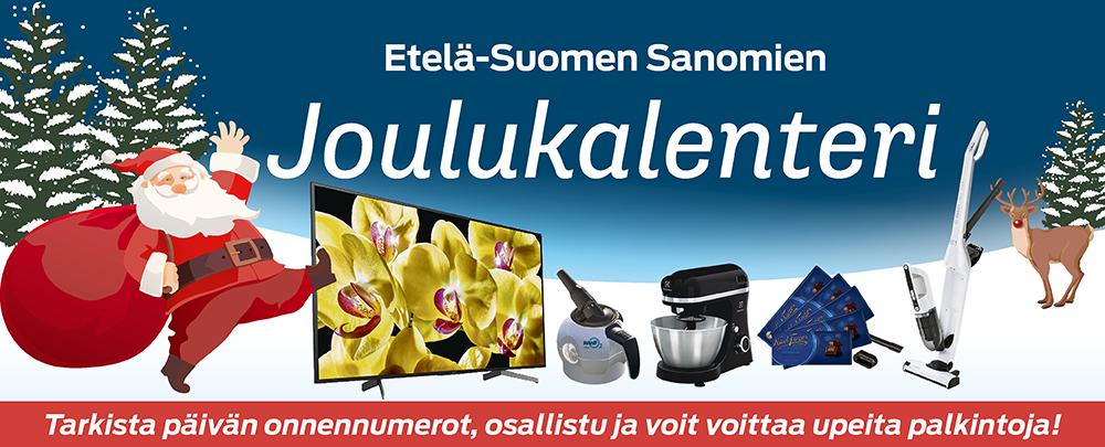 Etelä-Suomen Sanomien lukijoiden joulukalenteri
