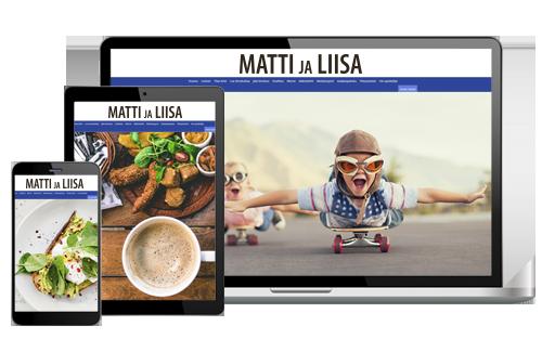 Matti ja Liisa VerkkoPlus alk. 6,10 €/kk