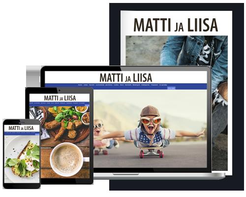 Matti ja Liisa Yhdistelmä alk. 9,05 €/kk
