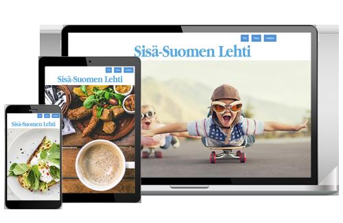 Sisä-Suomen Lehti VerkkoPlus alk. 4,92 € / kk