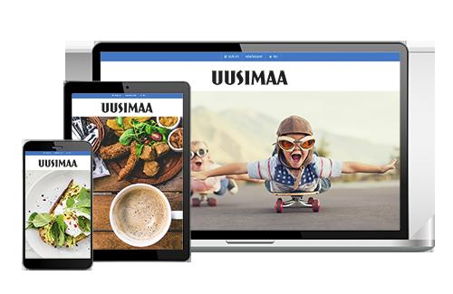 Tilaa Uusimaa VerkkoPlus ystävälle 1 kk maksutta + 3 kk -50 % hintaan 7,10 €/kk