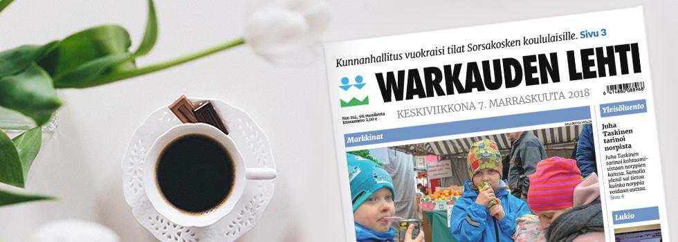 Warkauden Lehden kestotilaajan lahjatilaus